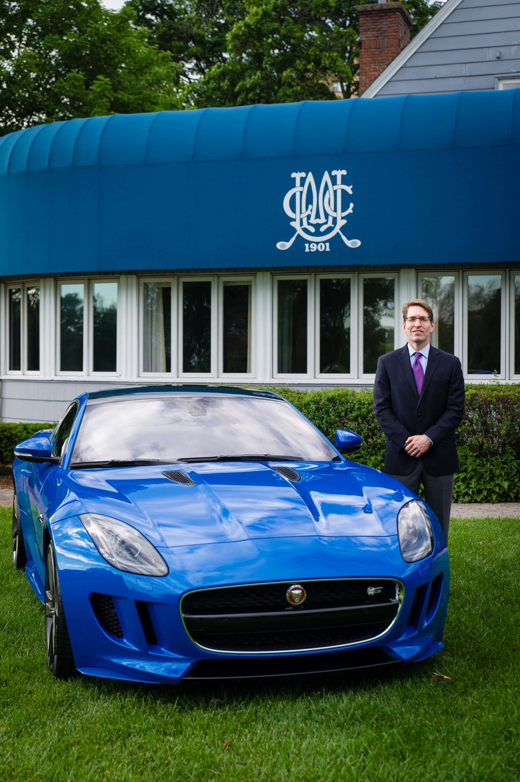 Dave Chambers and the F-TYPE Coupe