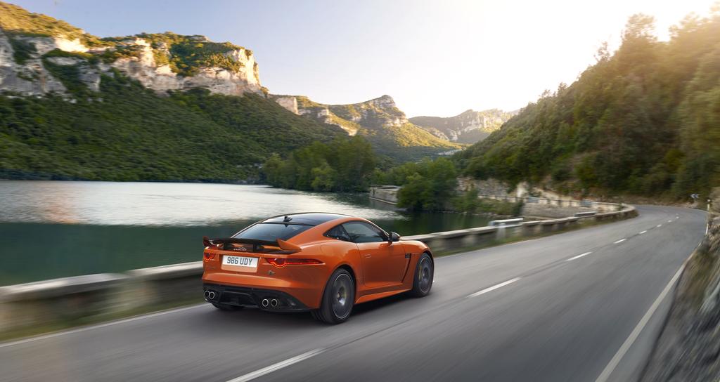 Jaguar Introduces Ultra-High Performance F-TYPE SVR Ahead of