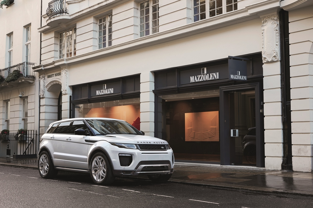 2016 Model Year Range Rover Evoque - The Most Efficient Production