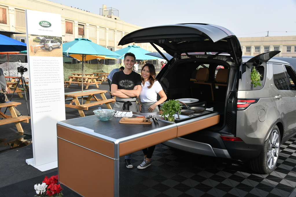 Land Rover Makes Smorgasburg LA Debut with Jamie Olive Bespoke Discovery