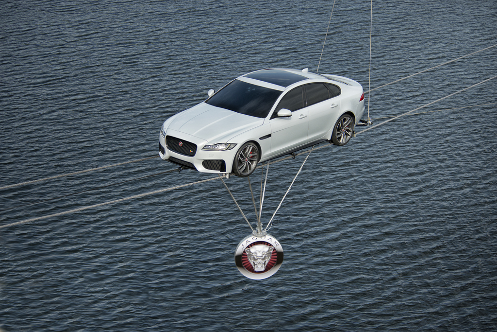 All-New 2016 Jaguar XF Revealed in Dramatic '