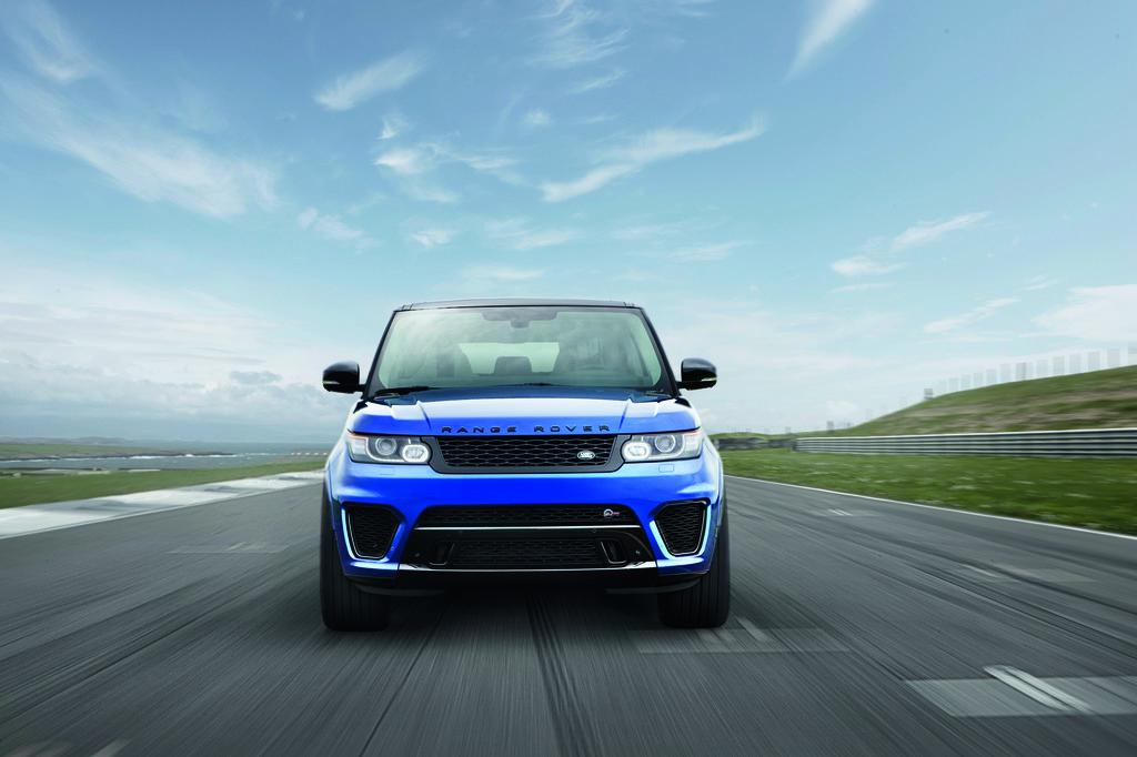 2015 Range Rover Sport SVR | Land Rover Homepage USA