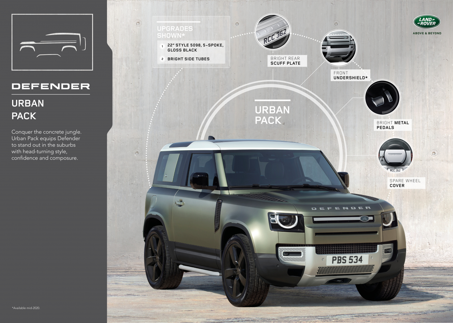 URBAN PACK - THE NEW DEFENDER