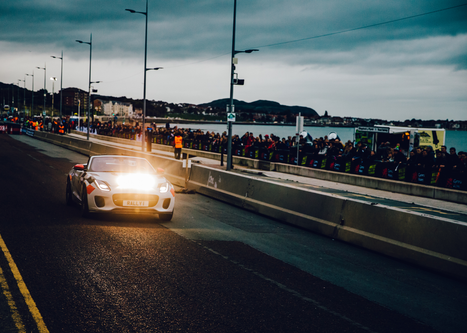 Jaguar F-type Rally Car Makes Final Appearance at 2019 Wales Rally Gb - Image 1