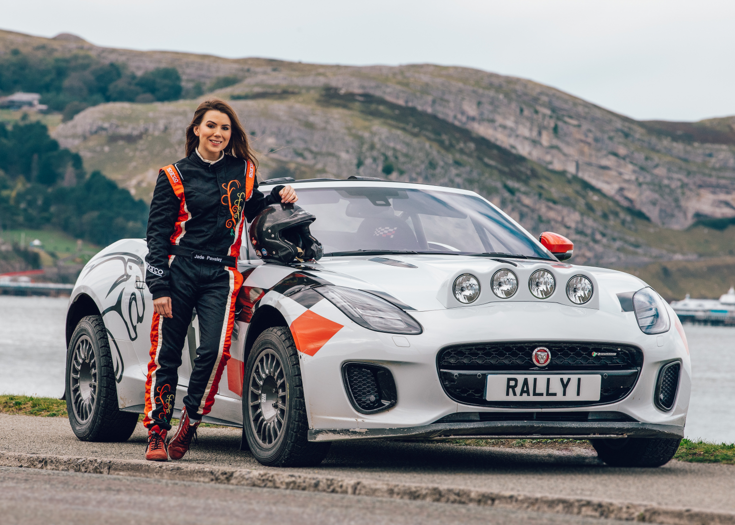 Jaguar F-type Rally Car Makes Final Appearance at 2019 Wales Rally Gb - Image 2