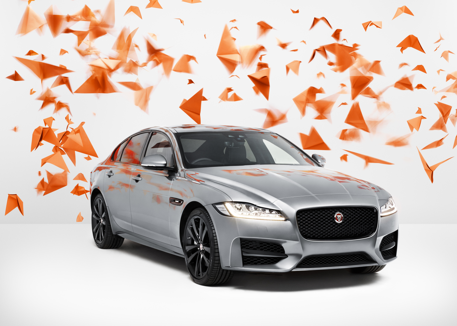FLYING HIGH - JAGUAR AND PHOTOGRAPHER RANKIN COLLABORATE TO CREATE STUNNING NEW ART SHOWCASING THE XF
