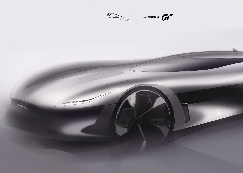Jaguar Designs All-electric Vision Gran Turismo Race Car for Gran Turismo Sport - Image 1