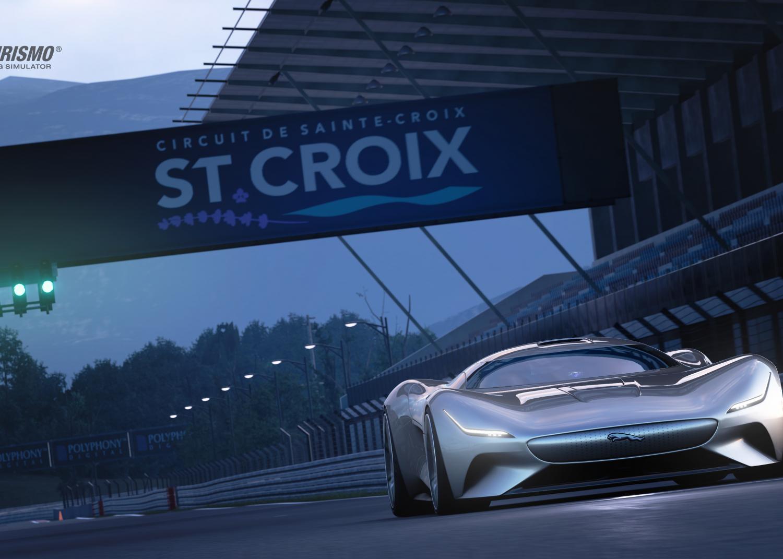 Jaguar Designs All Electric Vision Gran Turismo Race Car For Gran Turismo Sport Jlr Corporate Homepage Uk