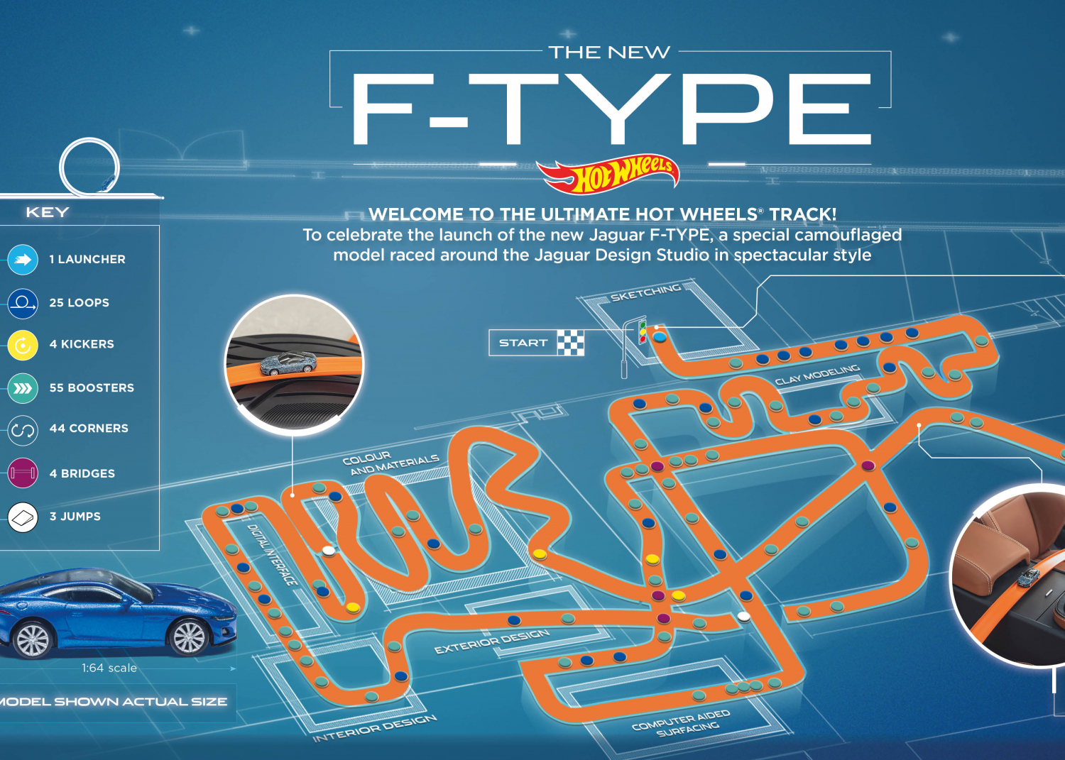 New Jaguar F-type Makes World Premiere with a Little Help from Hot Wheels® - Image 2