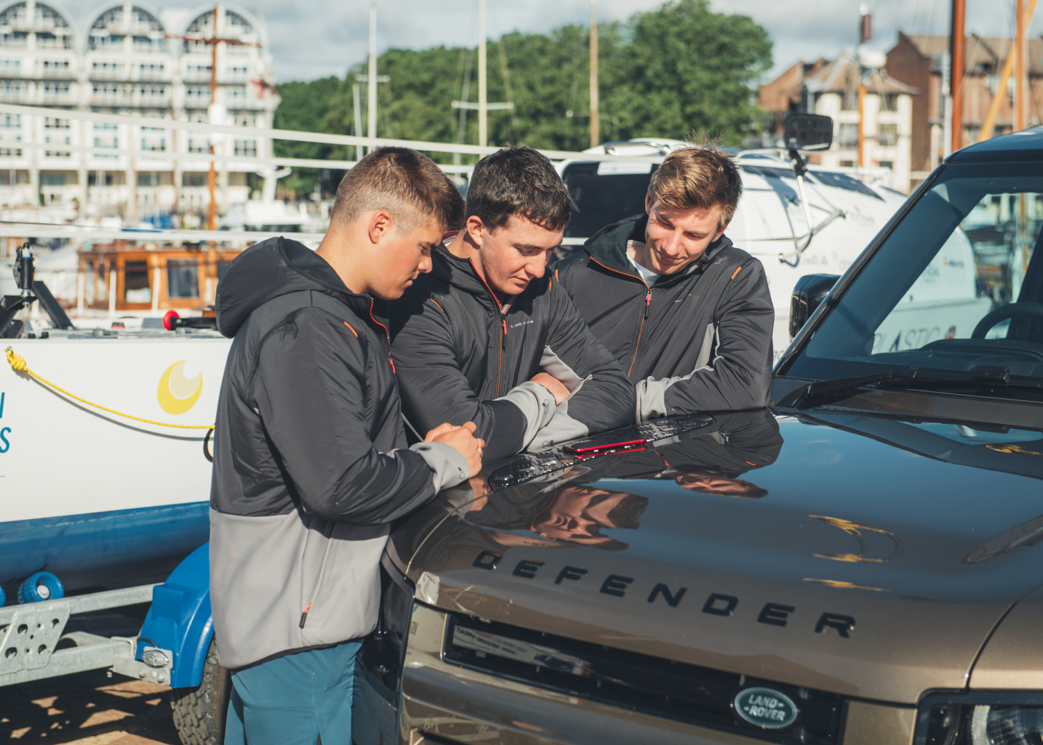 Land Rover X Elliot Brown Watch: Perfect Timing for Red Cross Rowers - Image 1