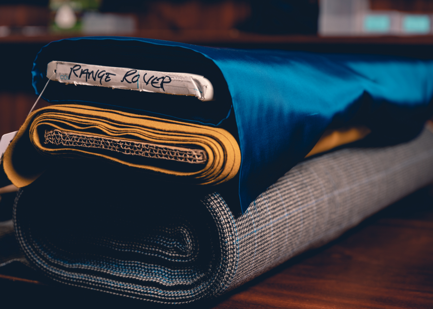 Land Rover and Henry Poole Create Unique Fabric to Celebrate 50 Years of Range Rover - Image 2