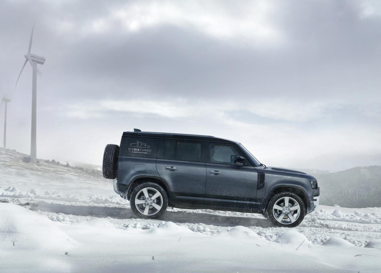 Land Rover führt mit dem Defender Hardtop wieder eine geschlossene Karosserievariante des legendären Geländewagens ein