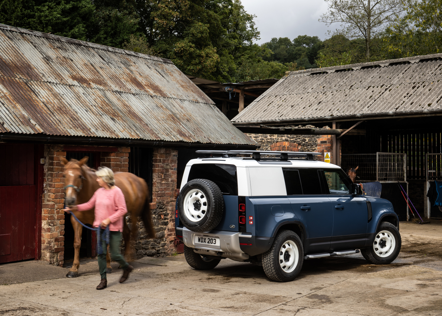 Land Rover Defender Hard Top: most Rugged and Durable Commercial Vehicle on Sale now - Image 1