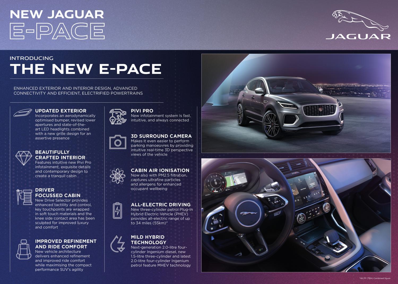 New Jaguar E-pace: Dynamic, Electrified, Connected - Image 3