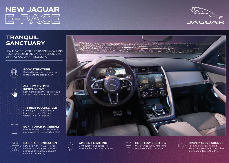 New Jaguar E-pace: Dynamic, Electrified, Connected - Image 2