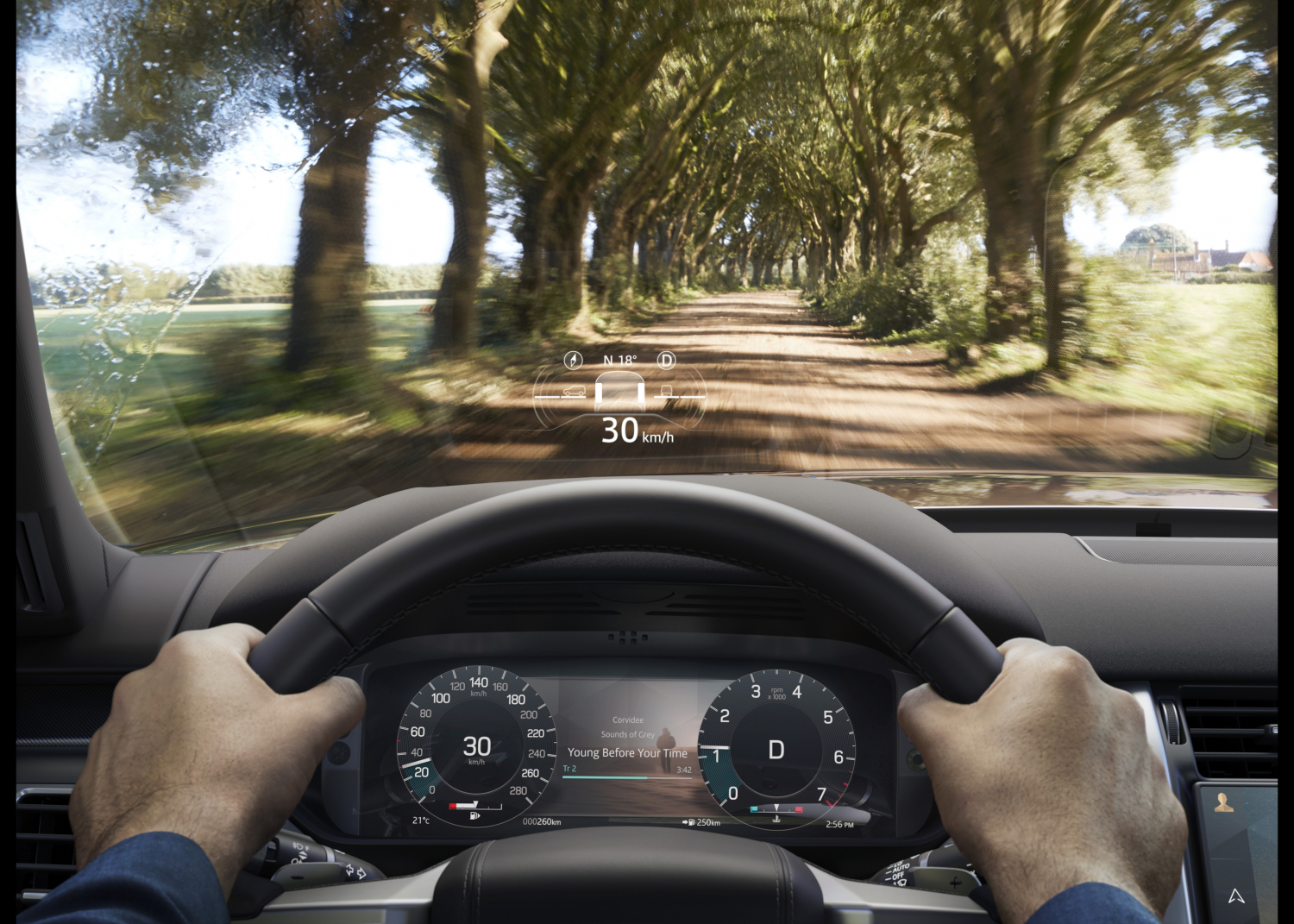 New Land Rover Discovery R-Dynamic - Interior