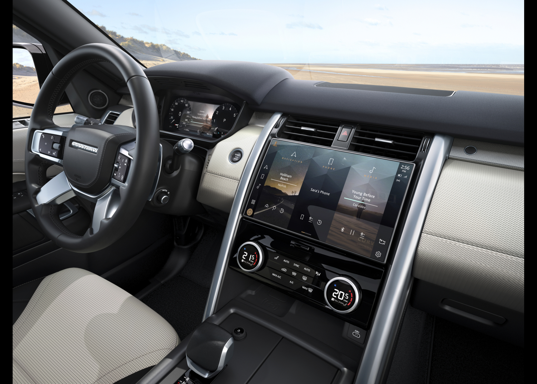 Neuer Land Rover Discovery R-Dynamic - Interieur Bilder