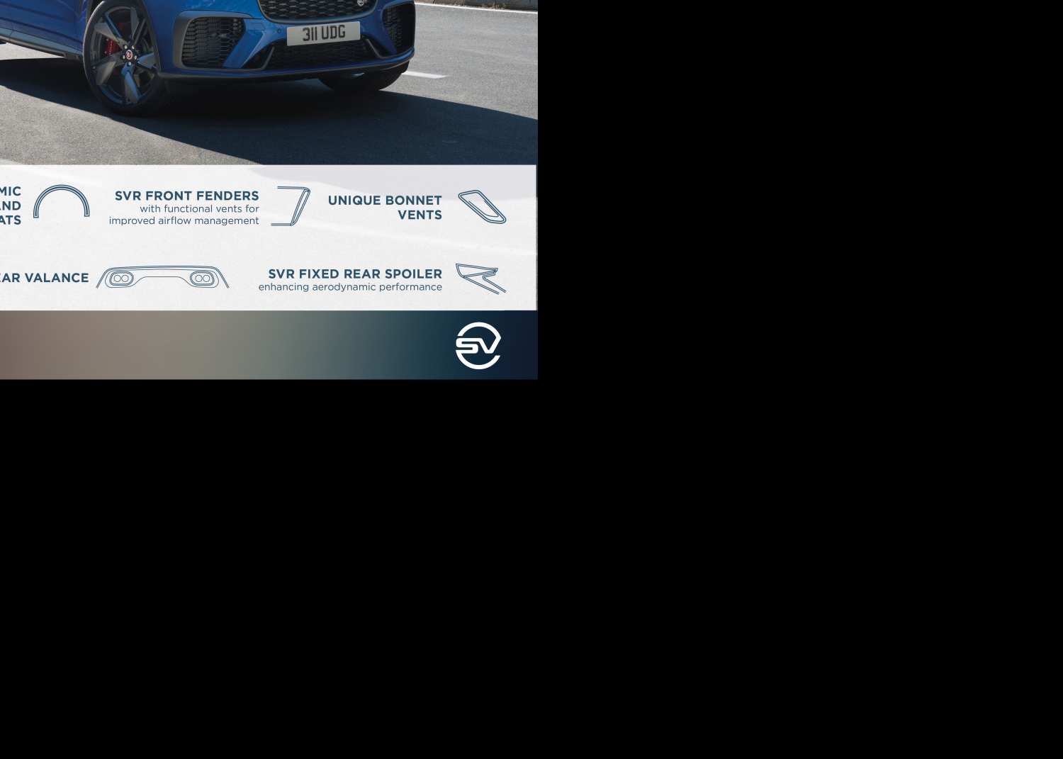 New Jaguar F-pace Svr: Performance Suv is Faster, more Luxurious and more Refined than Ever - Image 1