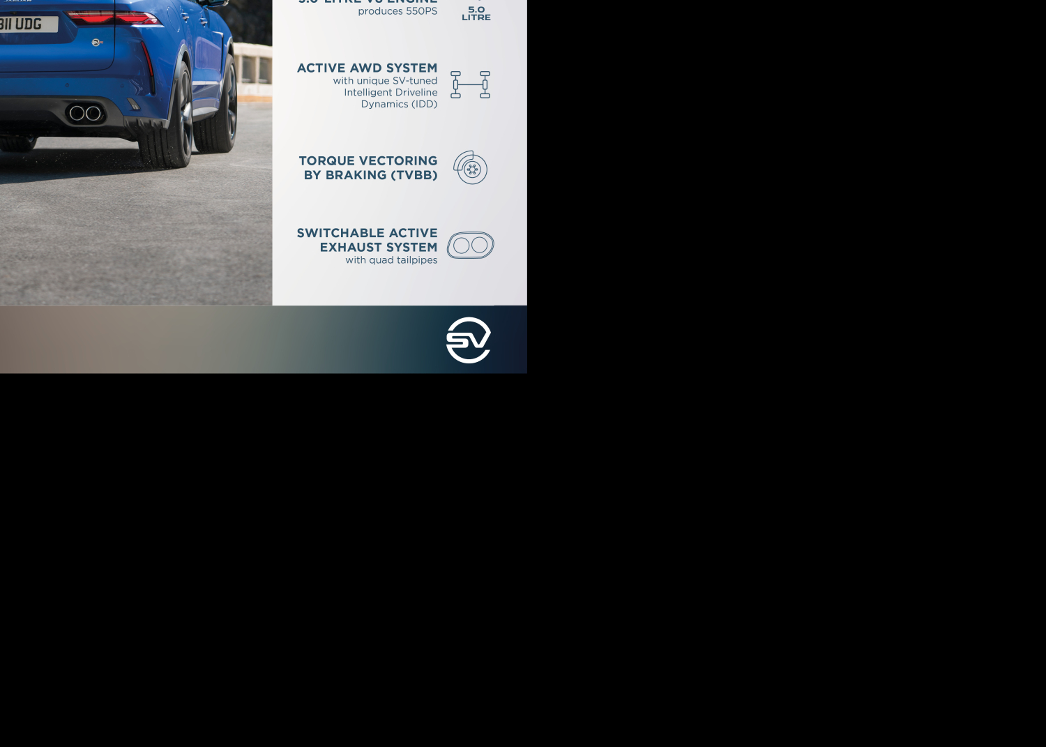 New Jaguar F-pace Svr: Performance Suv is Faster, more Luxurious and more Refined than Ever - Image 4