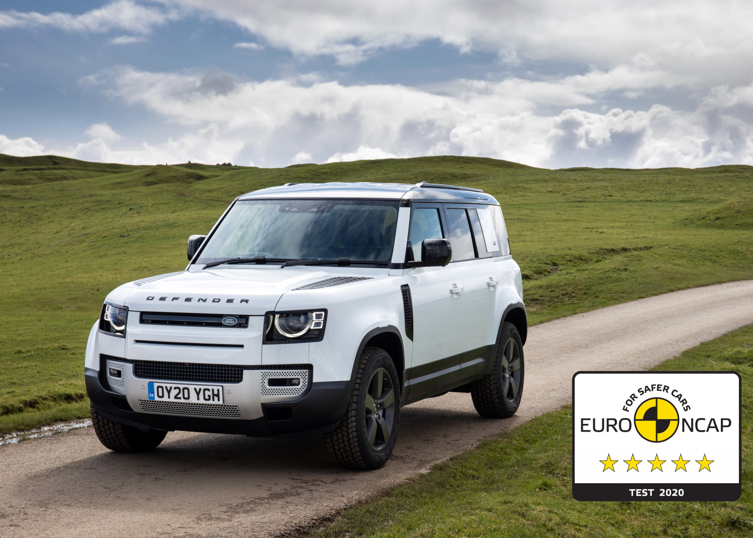 Five-star Euro Ncap Safety Rating for Award-winning New Defender 110 - Image 1