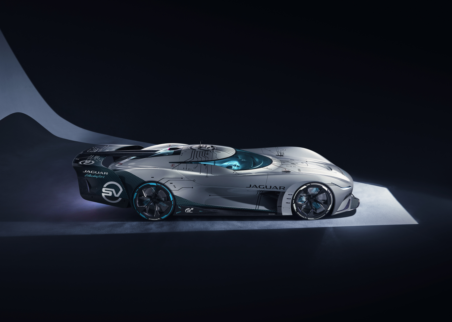 Introducing the Jaguar Vision Gran Turismo Sv: the Ultimate All-electric Gaming Endurance Racer - Image 4