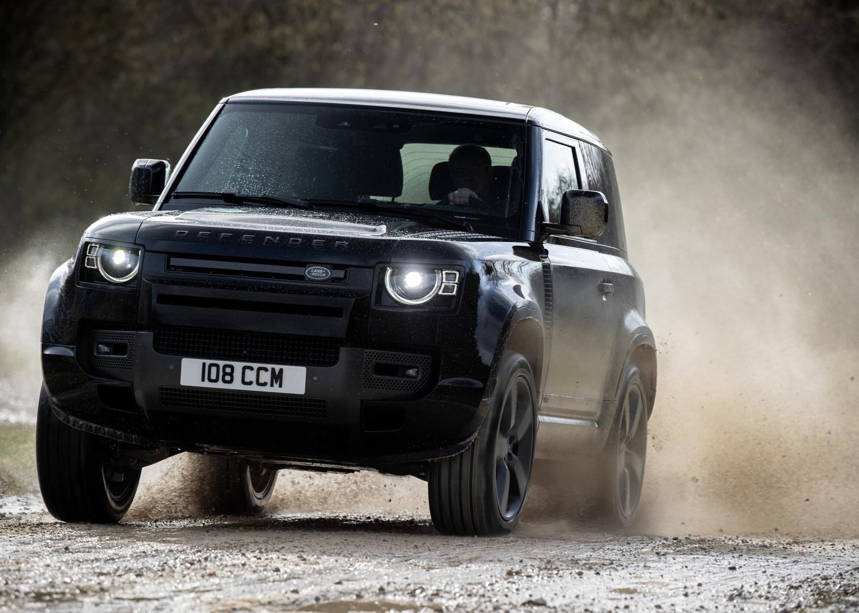 On-road, Off-road, Static - Defender 90 V8