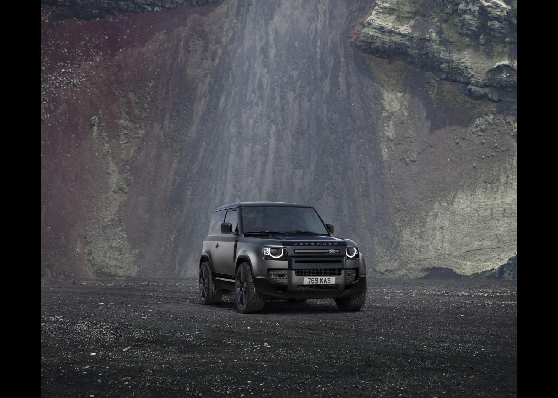 Edition de lancement Defender V8 : Carpathian Edition