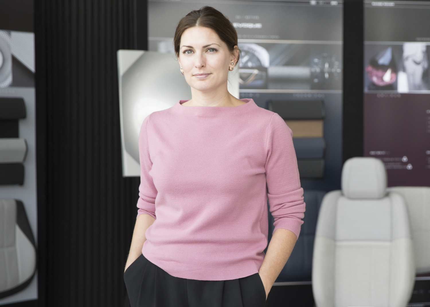 Amy Frascella, Land Rover's Director of Colour and Materials