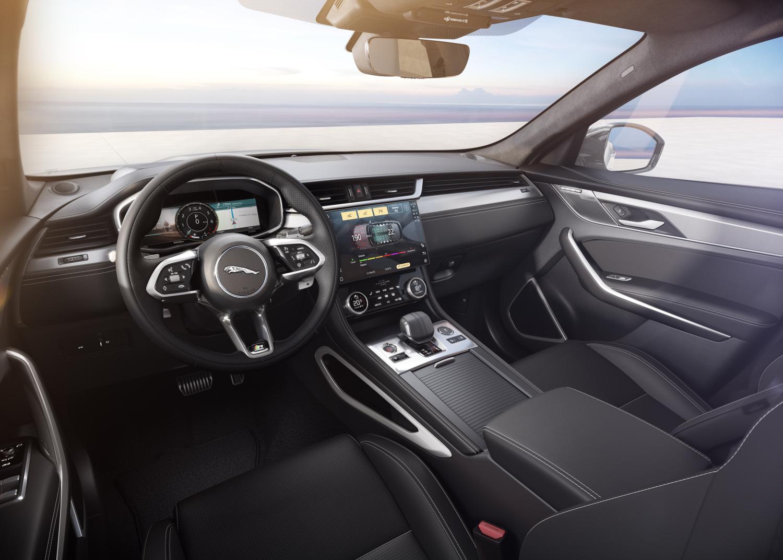 F-PACE R-Dynamic Black - Ostuni White with Ebony interior