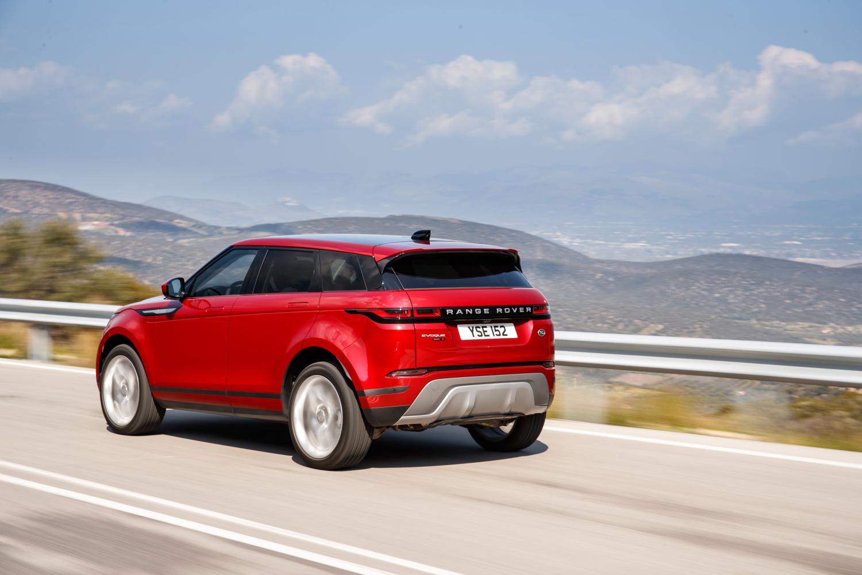 DRIVING – GREECE: NEW RANGE ROVER EVOQUE