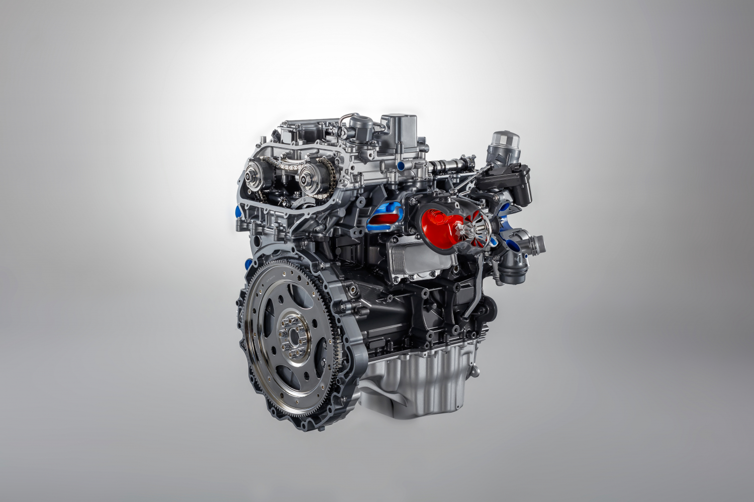 New 300PS petrol engine RWD