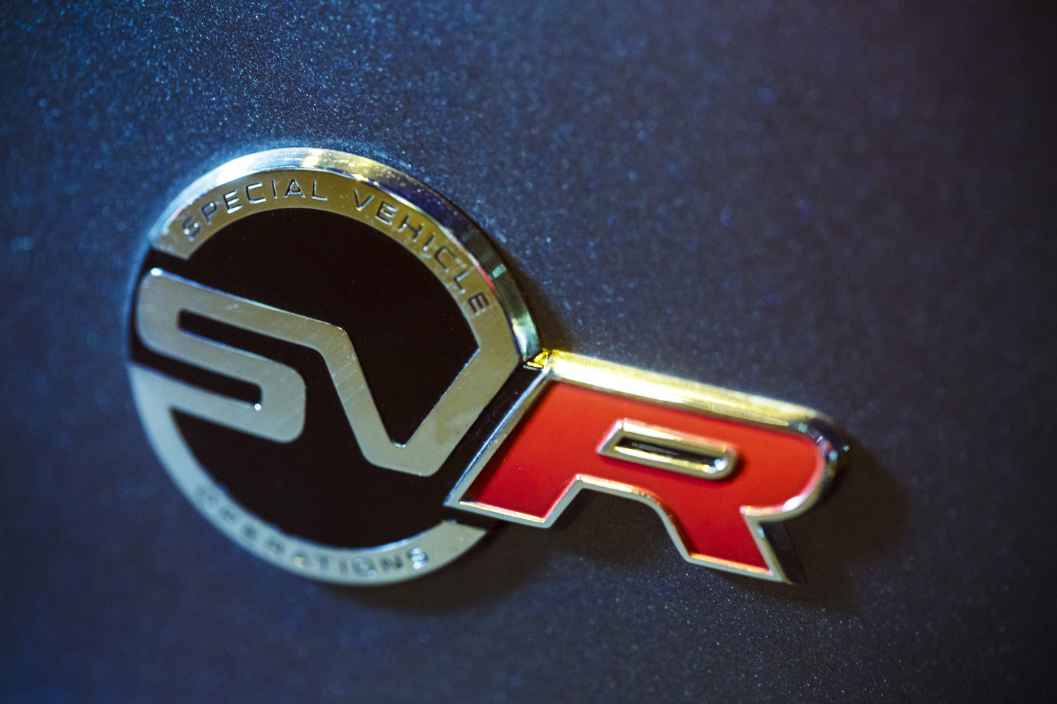 Jaguar F-TYPE SVR Badge