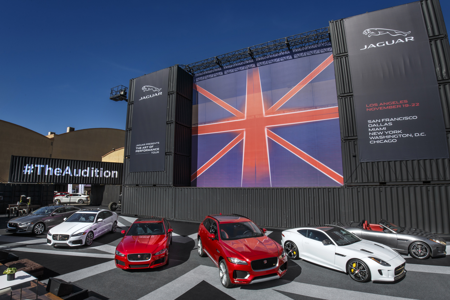 Jaguar Art Of Performance Tour Re-Imagines The Test Drive For A New Generation In The Digital Era