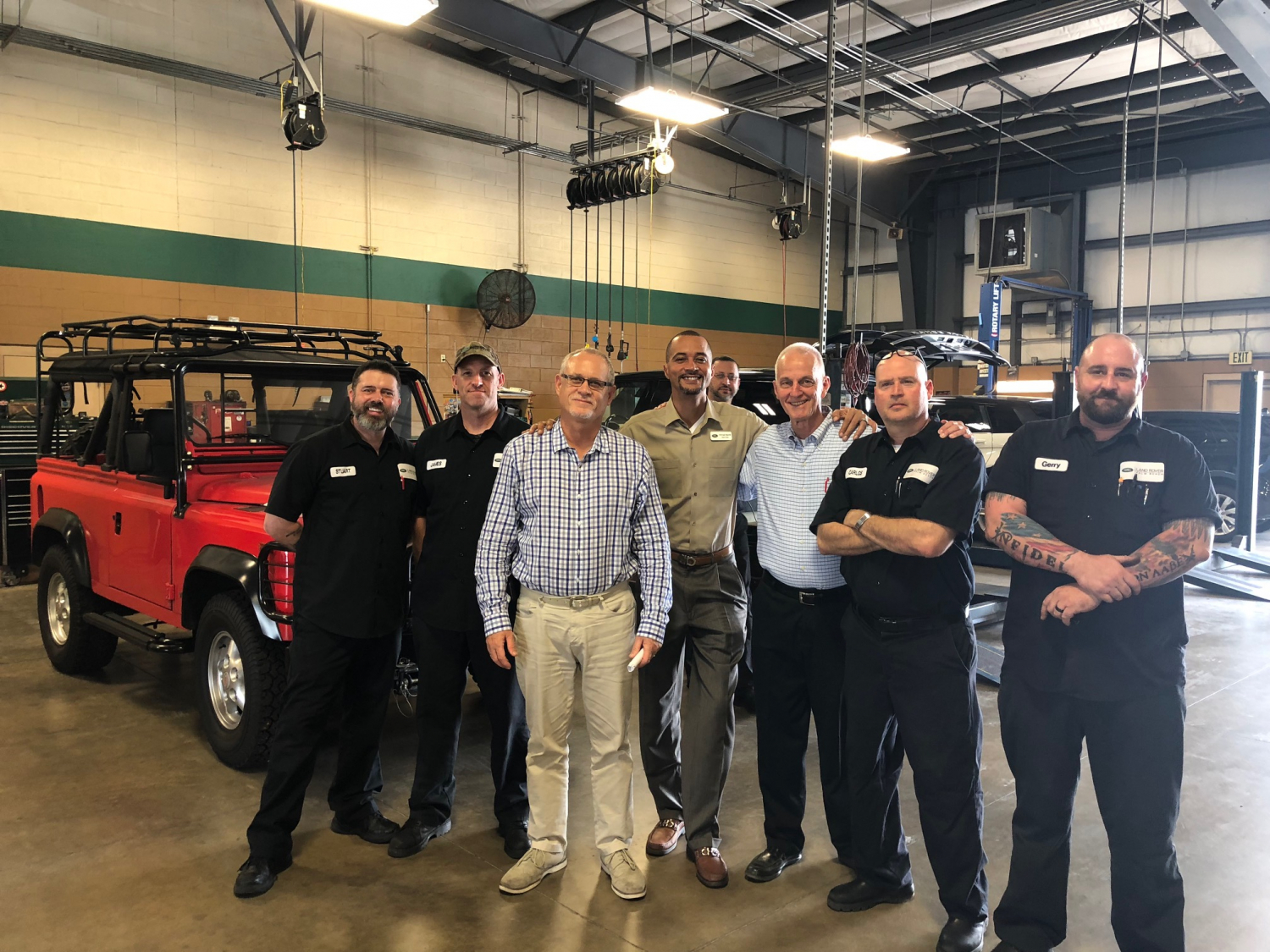 Land Rover Palm Beach >> Longtime Land Rover Palm Beach Service Manager Mike Snyder