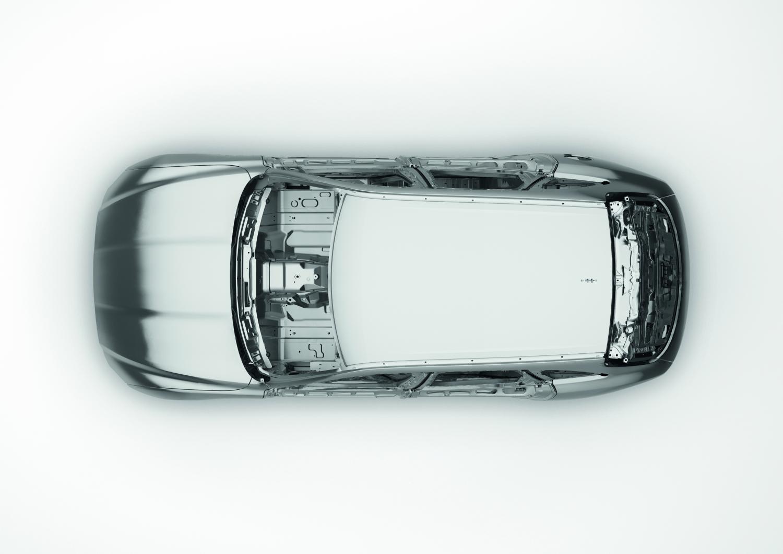 Jaguar Reveals the All-New F-PACE - Bodyshell Technology