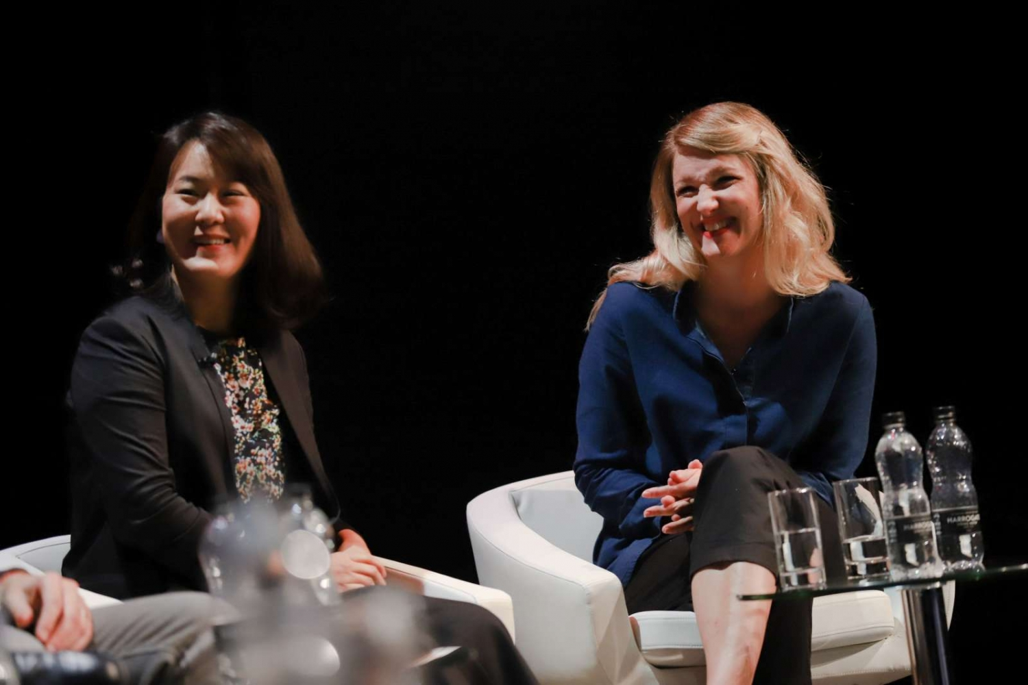 Women and Machine - Yihyun Lim (left) and Dr Matilda Andersson