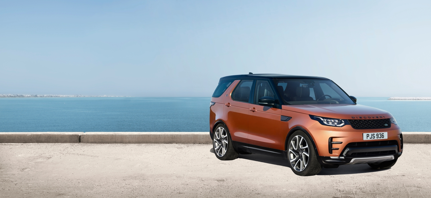 LAND ROVER REVEALS NEW DISCOVERY - DYNAMIC DESIGN PACK