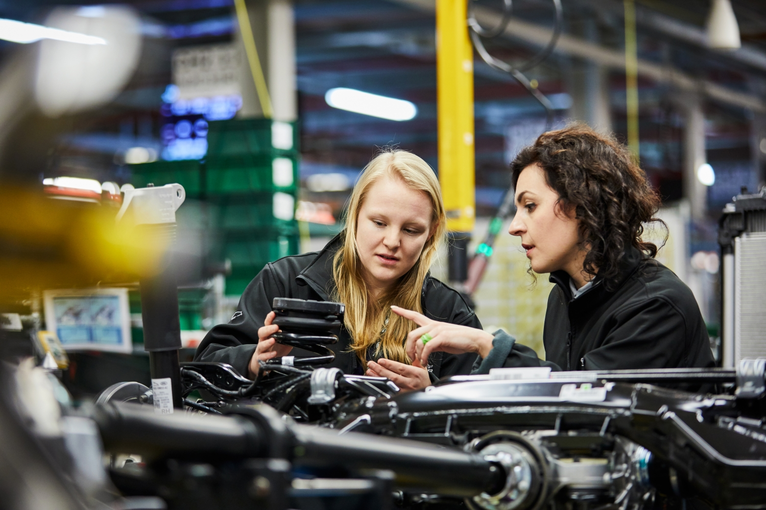 DR Lucia Carassiti & Sophie Wakeford (Morsa Images) - Women in Engineering - Solihull