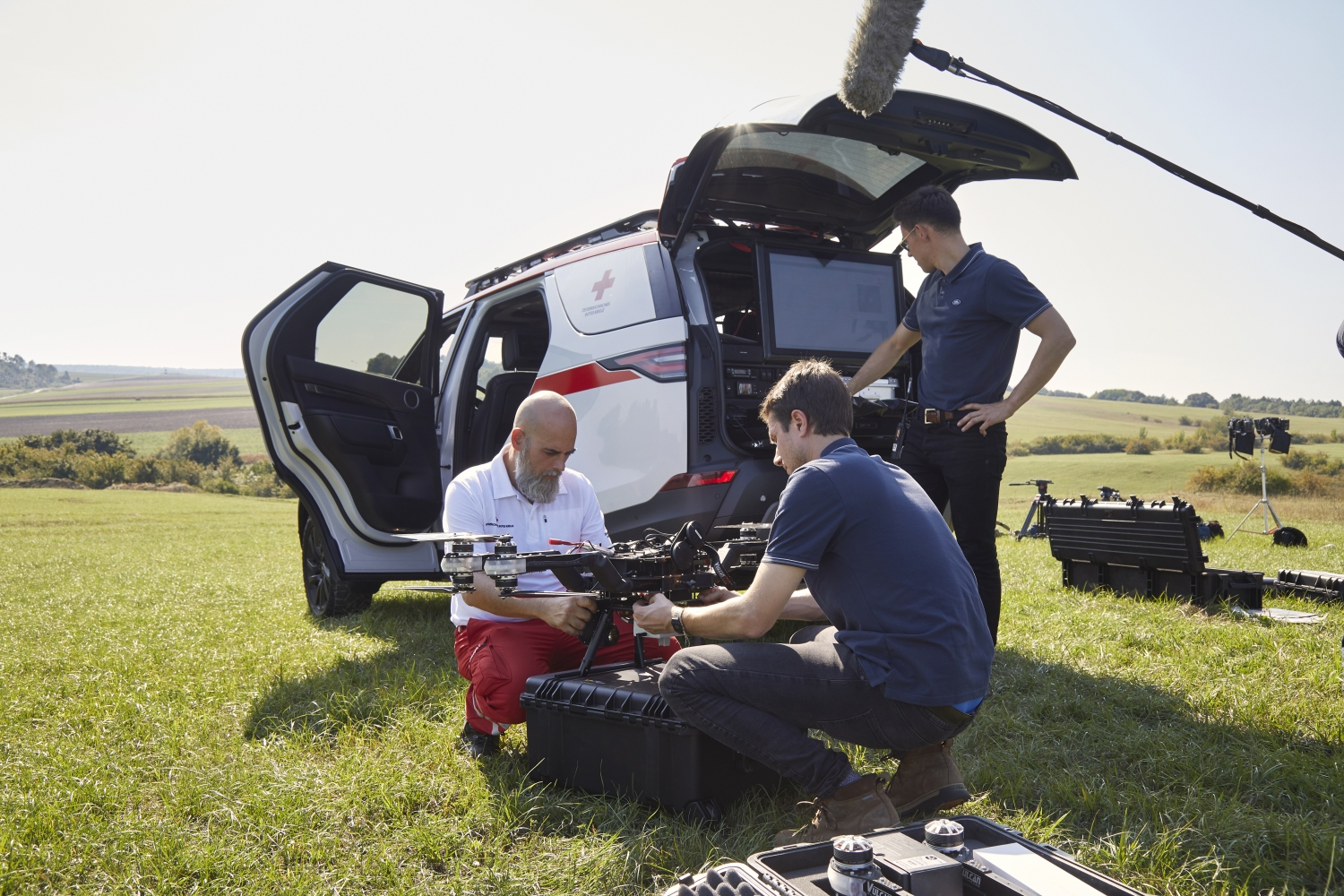 Behind The Scenes: Discovery Red Cross Emergency Response Vehicle
