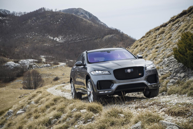 Jaguar F-PACE global media drives in Montenegro