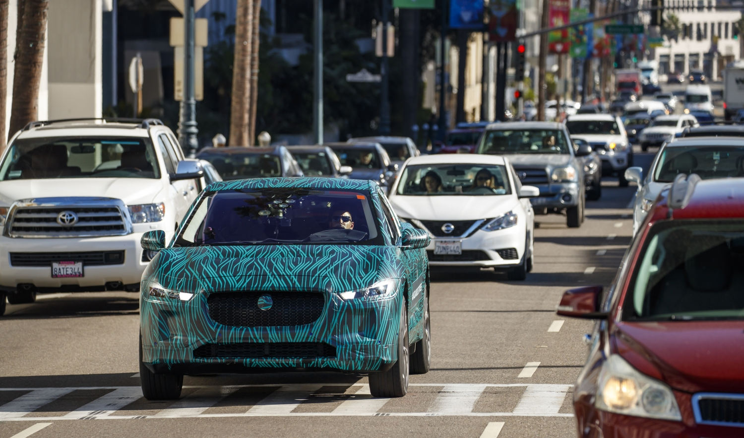 ELECTRIC ROAD TRIP: JAGUAR I-PACE COMPLETES FINAL TESTING IN LOS ANGELES AHEAD OF 2018 REVEAL ...
