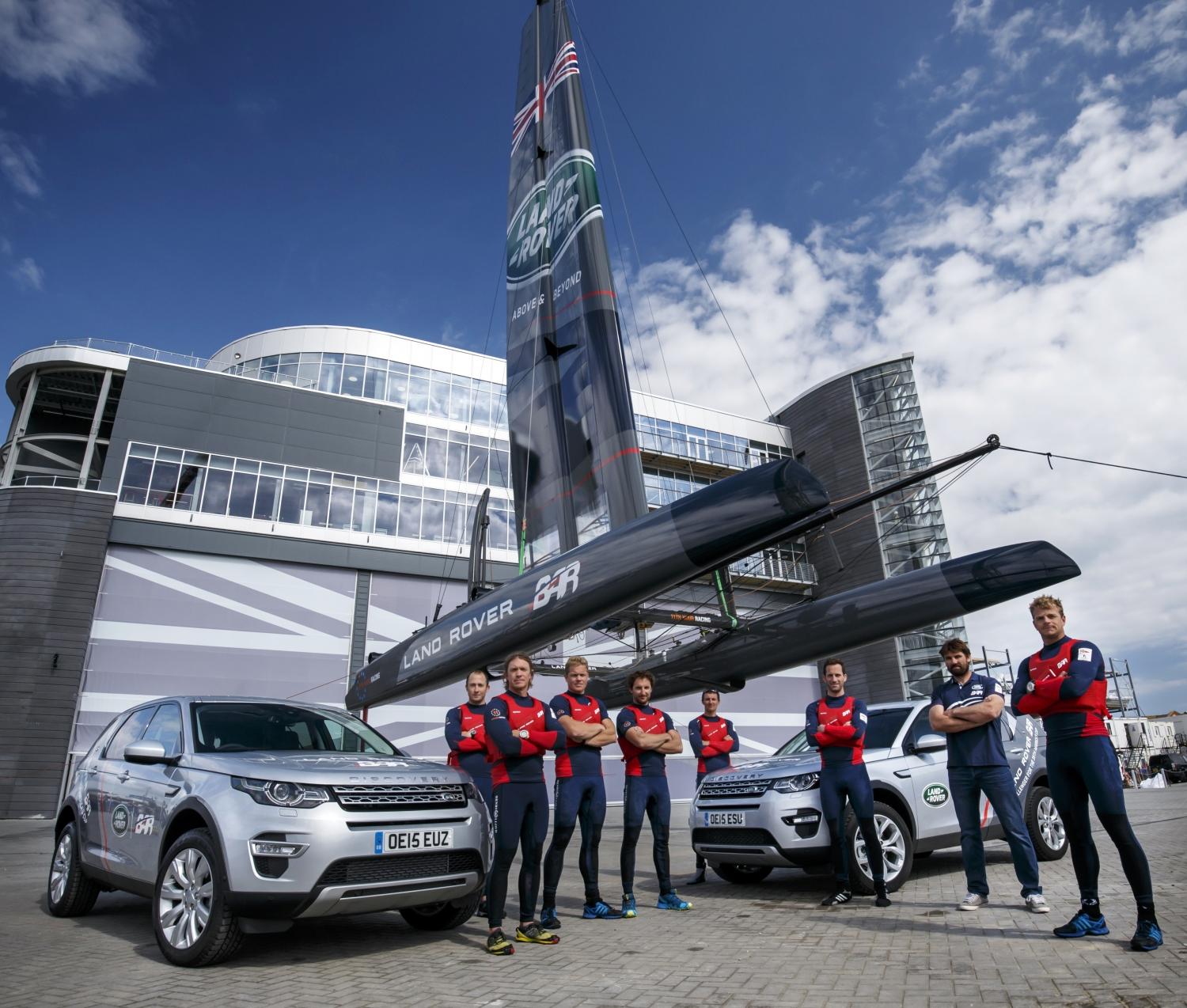 Land Rover Becomes Title And Exclusive Innovation Partner With Ben Ainslie Racing For America's Cup Bid
