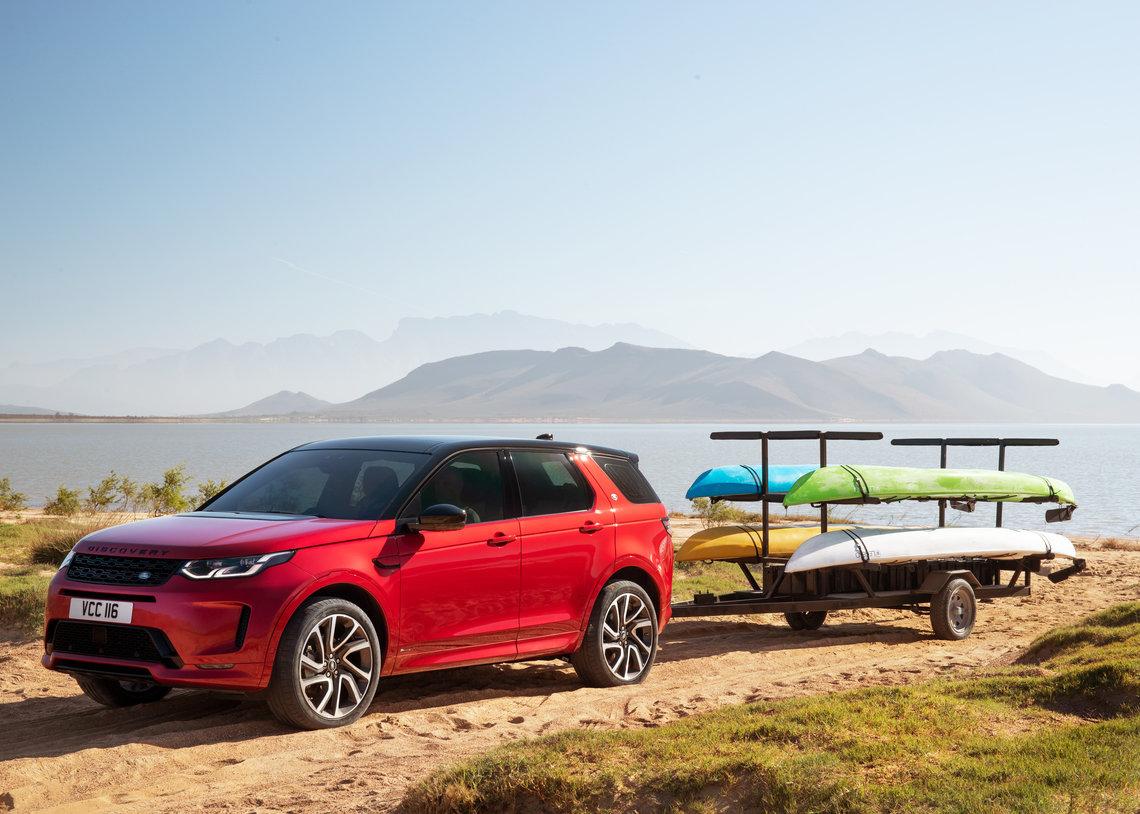 Der neue Land Rover Discovery Sport - Fähigkeiten