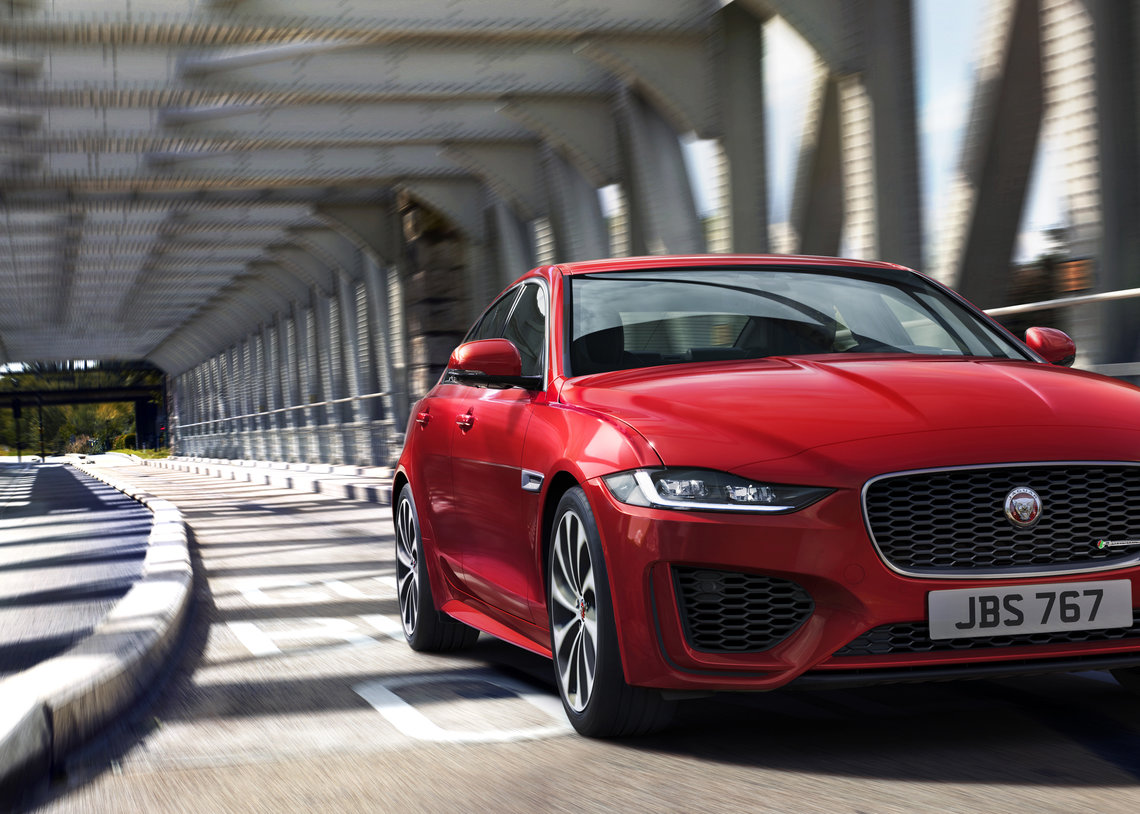 LOCATION IMAGE OF THE NEW JAGUAR XE