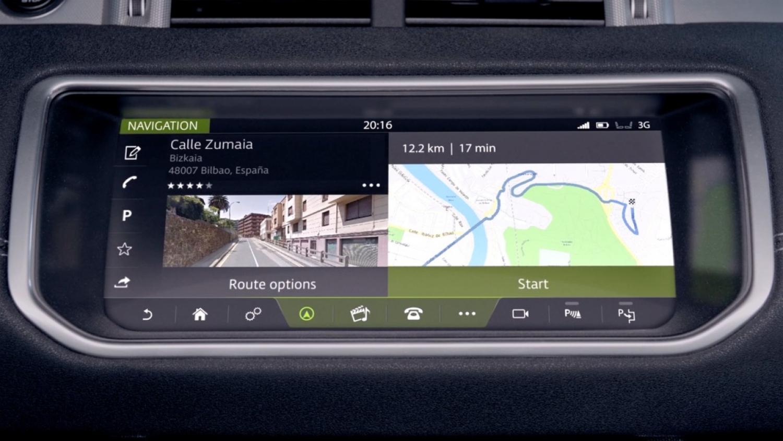Land Rover Seemless Navigation