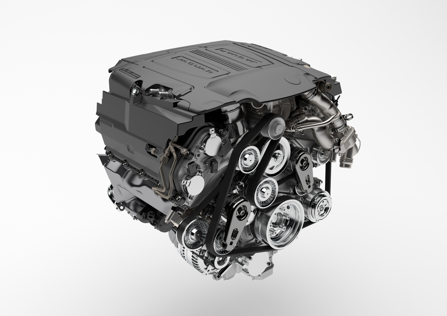 Jaguar Reveals the All-New F-PACE - V6 Supercharged Engine