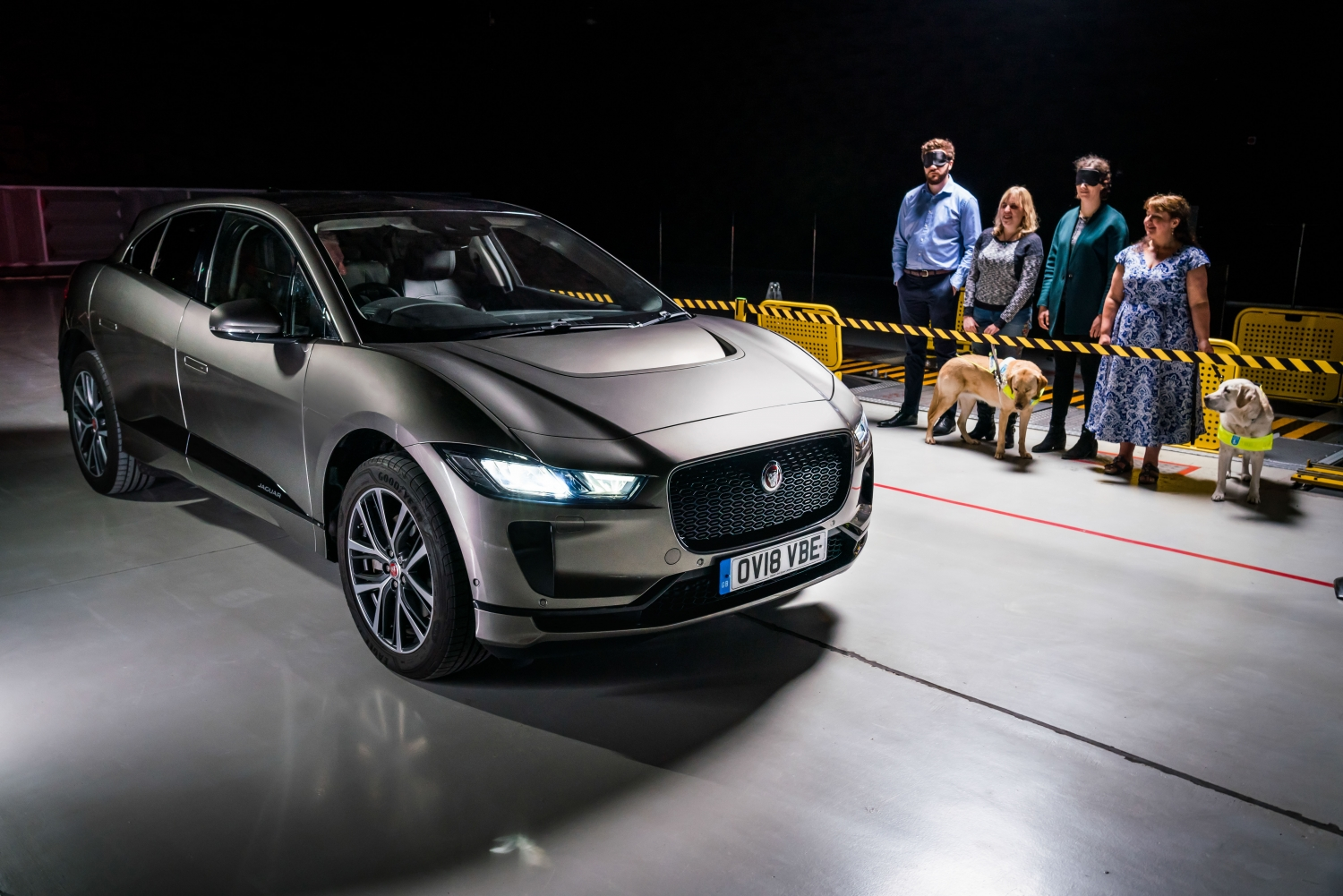SOUND OF JAGUAR I-PACE PROTECTS ROAD USERS | Jaguar homepage