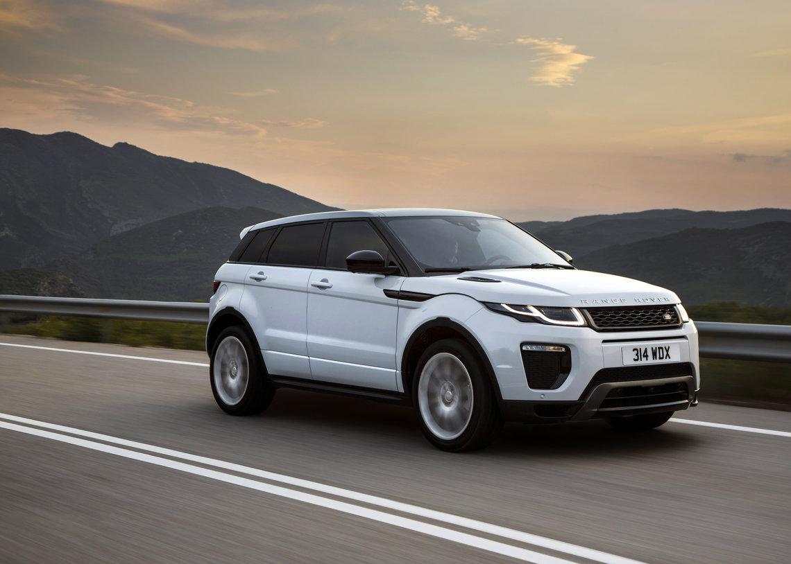 240PS Si4 Ingenium petrol Range Rover Evoque for 2018