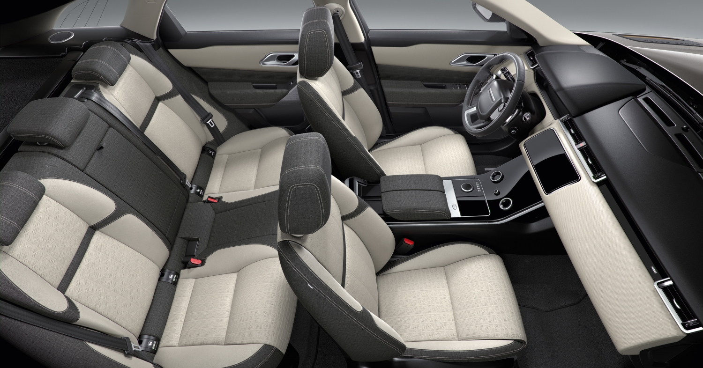 New Range Rover Velar - Kvadrat Interiors