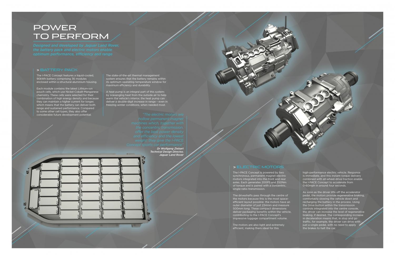 JAGUAR REVEALS THE I-PACE CONCEPT - THE ELECTRIC PERFORMANCE SUV